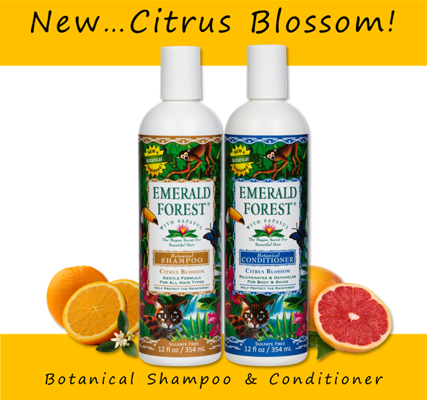 Emerald Forest Botanical Shampoo & Conditioner