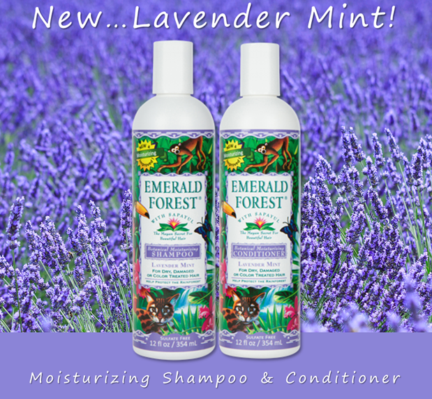 Emerald Forest Moisturizing Shampoo & Conditioner - Lavender-Mint